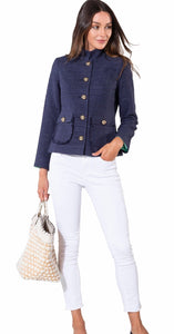 Navy Sail to Sable Jacket