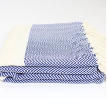 Load image into Gallery viewer, Herringbone Turkish Towel