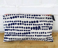 Royal Hilary Clutch Zipper Bag By Erin Flett