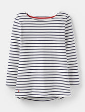 Load image into Gallery viewer, Cream Harbour Jersey Top By Joules