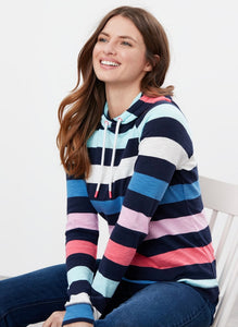 Striped Hooded Sweatshirt By Joules