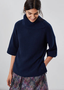 Sarah Knitted Poncho by Joules