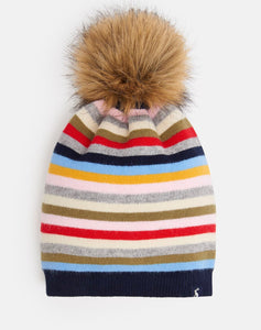 Colorful Pom Hat