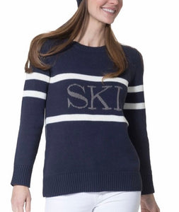Intarsia Ski Sweater By Sail To Sable