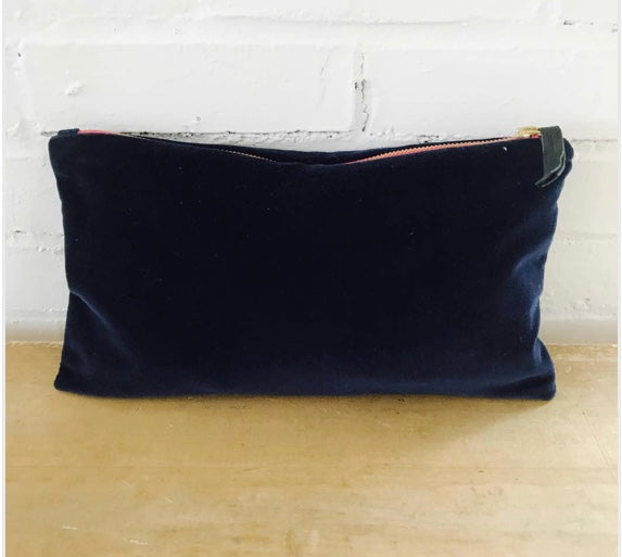 Velvet Clutch By Erin Flett