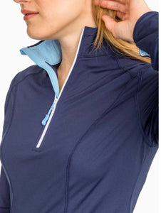 Skipjack Athletic Quarter Zip By Southern Tide