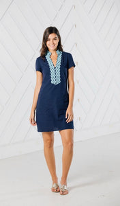 Short Sleeve Tunic Dress By Sail to Sable
