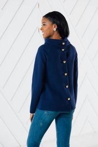 Button Back Top By Sail to Sable