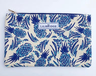 Blue Pineapple Clutch By Lilibridge