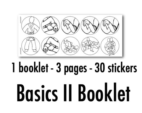 Basics II Booklet (30 Stickers)