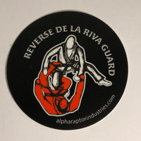 BJJ Positionals - Vinyl Stickers