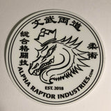 Alpha Raptor Logo - Vinyl Sticker