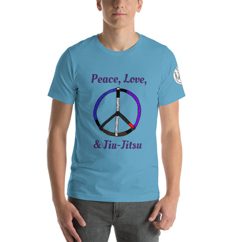 Peace, Love, and Jiu-Jitsu shirt