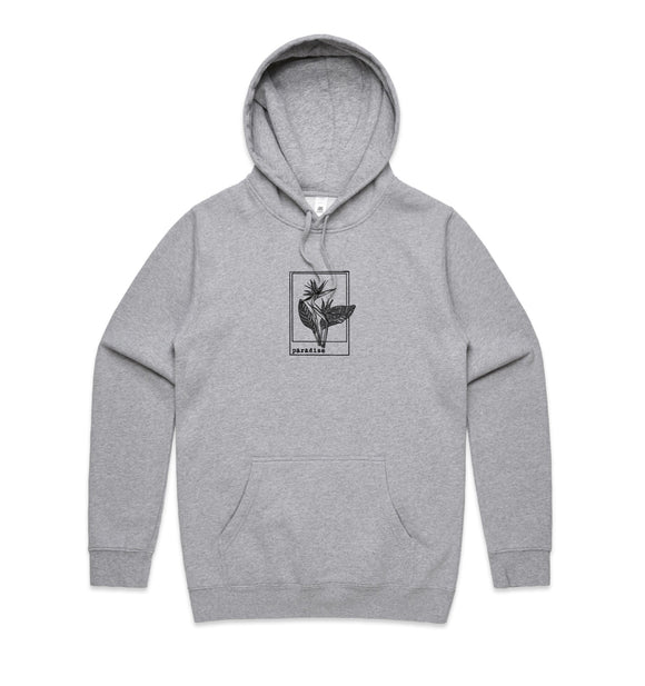 Bird Of Paradise Grey Hoodie