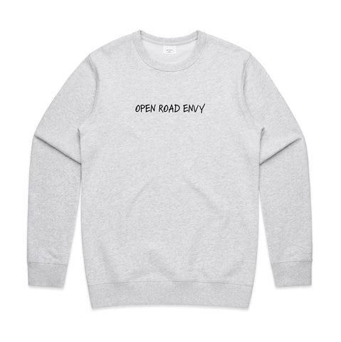 Open Road Envy White/Black Marle Sweater