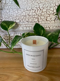 Deluxe Soy Candles - White Large