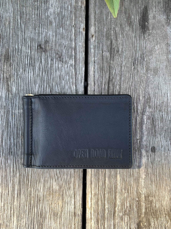 ORE. Men's Leather Wallet- Black
