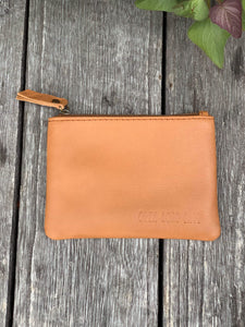 ORE. Leather Clutch - Brown