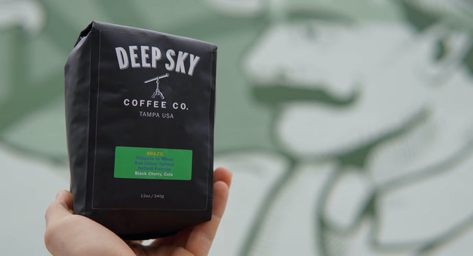Deep Sky Coffee - Brazil Single Origin - Tampa, FL - www.deepskycoffee.com