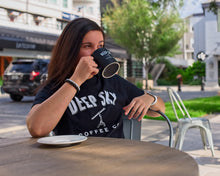 Load image into Gallery viewer, Deep Sky Coffee Merchandise  Cotton T-Shirt Coffee Mug  https://deepskycoffee.com/collections/merch