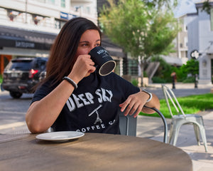 Deep Sky Coffee Merchandise  Cotton T-Shirt Coffee Mug  https://deepskycoffee.com/collections/merch