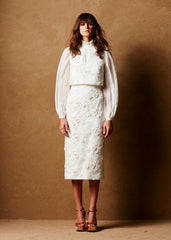 Caroline Hayden City Hall Wedding Skirt Suit