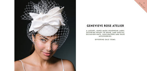Empire Coven Small Women Owned Business Featuring Genevieve Rose Atelier Hats