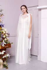 Halfpenny London Sheer Bridal Cape