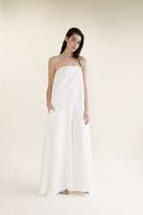 Houghton Bridal Jumpsuit for a City Hall Wedding