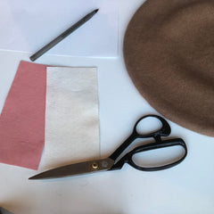 DIY Applique Felt Beret Gift Kit by Genevieve Rose Atelier