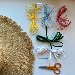 Genevieve Rose Atelier DIY Embroidered Sun Hat Kit
