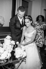 Zoe Kravitz Short Wedding Dress