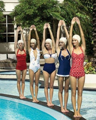 Vintage Pool Party Staycation by Genevieve Rose Atelier