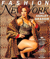 New York Magazine Ashley Graham Cover Leopard Pillbox Hat Genevieve Rose Atelier