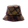 Benedetta: Mohair Plaid Bucket Hat