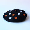 DIY Applique Felt Black Beret Gift Kit by Genevieve Rose Atelier