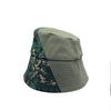 Calvert Camo Brocade Bucket Hat by Genevieve Rose Atelier