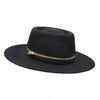 Retroflame Genevieve Rose Atelier Felt Fedora Boater Hat with Zipper