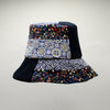 Dumas Patchwork Bucket Hat by Genevieve Rose Atelier