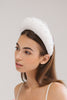 Giovanna Oversized Bridal Headband with Pearls by Genevieve Rose Atelier