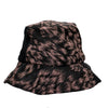 Imogen Silk Ikat Bucket Hat by Genevieve Rose Atelier