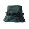 Maudie: Forrest Green Pleated Rain Hat