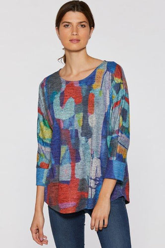 You Know I Know Soft Touch Dolman Sleeve Top