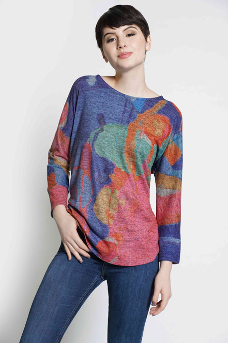 Untitled One Soft Touch Dolman Sleeve Top