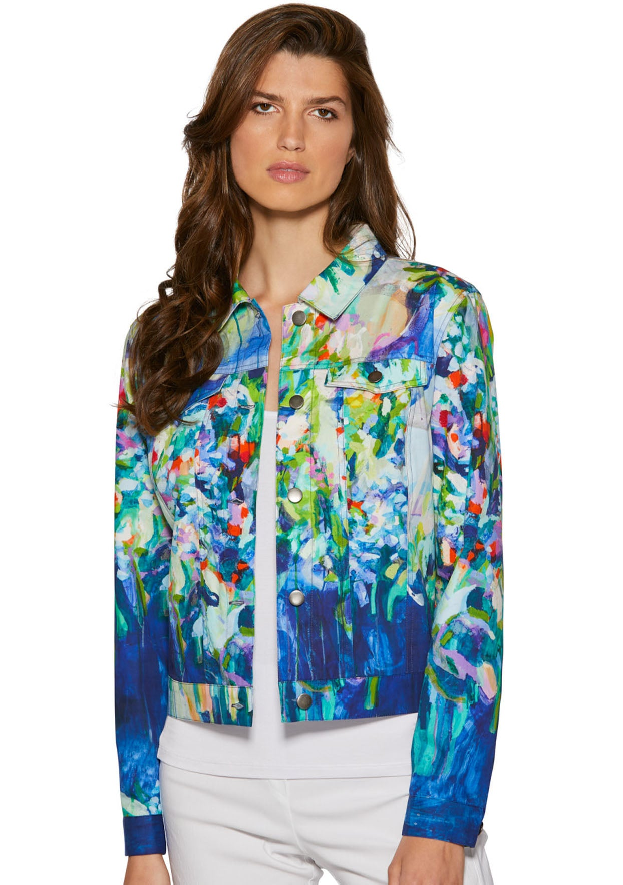 Full Bloom Jean Jacket