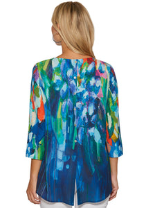 Full Bloom Top with Back Button