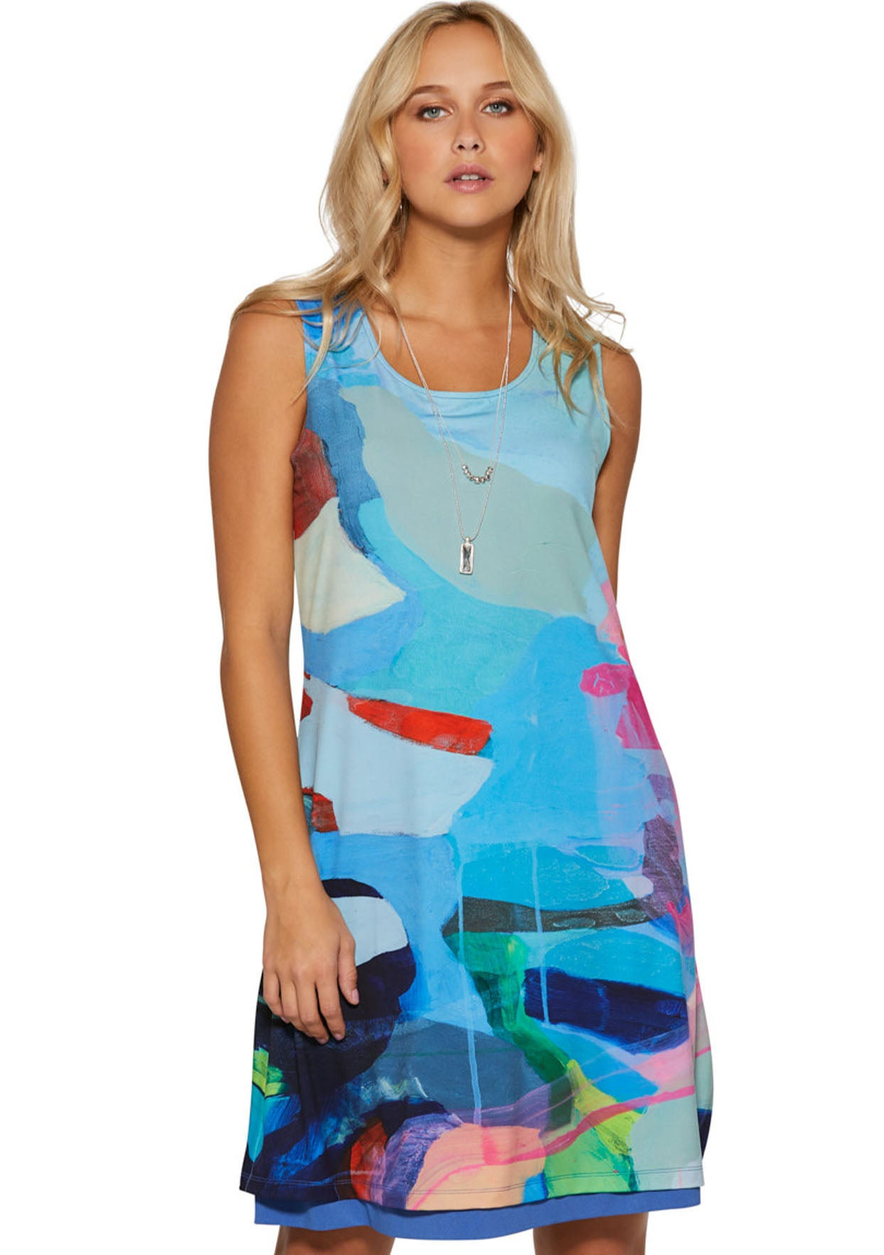 Take Me to California Reversible Dress