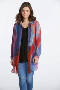 Dancing in the Kitchen Chiffon Blouse
