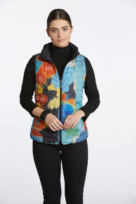 In the City Reversible Vest