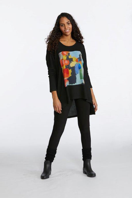 In the City High-Low Tunic